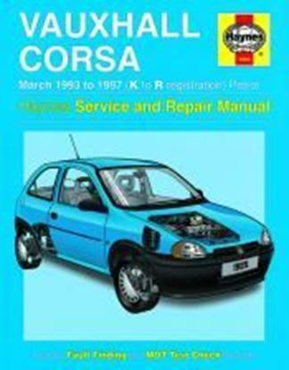 Picture of OPEL CORSA VAUXHALL PETROL 1993-97 N. 1985 OWNERS WORKSHOP MANUALS