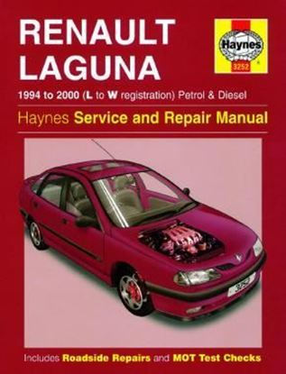 Picture of RENAULT LAGUNA 1994 TO 2000 (L TO W REGISTRATION) PETROL & DIESEL OWNERS WORKSHOP MANUALS N. 3252