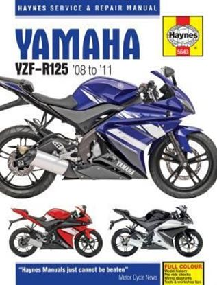 Picture of YAMAHA YZF-R125 2008 TO 2011 OWNERS WORKSHOP MANUAL N. 5543