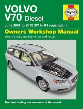 Picture of VOLVO V70 DIESEL 2007-2012 OWNERS WORKSHOP MANUAL N. 5557