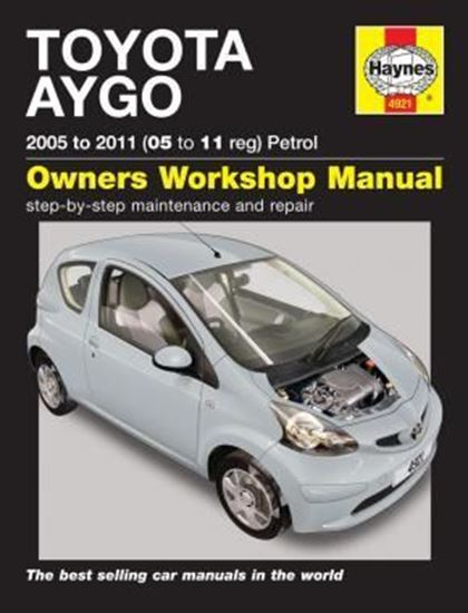 Picture of TOYOTA AYGO 2005 TO 2011 N. 4921 OWNERS WORKSHOP MANUALS