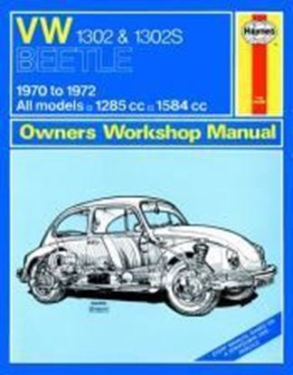 Immagine di VW BEETLE 1302 & 1302S 1970-72 N. 110 OWNERS WORKSHOP MANUALS