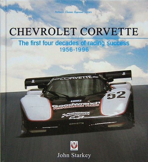 Immagine di CHEVROLET CORVETTE: THE FIRST FOUR DECADES OF RACING SUCCESS 1956-1996