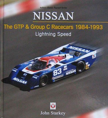 Immagine di NISSAN THE GTP & GROUP C RACECARS 1984-1993: LIGHTNING SPEED