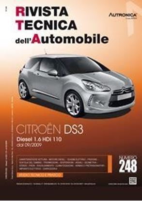 "Picture of CITROEN DS3 DIESEL 1.6 HDi 110 DAL 09/2009 N. 248 SERIE ""RIVISTA TECNICA DELL'AUTOMOBILE"""