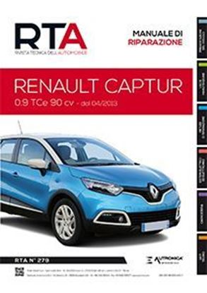 Picture of RENAULT CAPTUR 0.9 TCe 90CV DAL 04/2013 N.279. SERIE «RIVISTA TECNICA DELL'AUTOMOBILE»