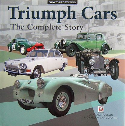 Picture of TRIUMPH CARS THE COMPLETE STORY. 3a edizione 2018