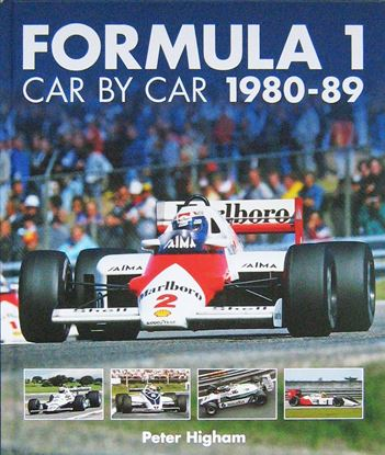 Immagine di FORMULA 1 CAR BY CAR 1980-89
