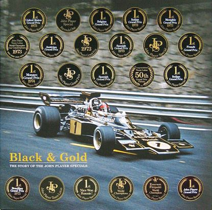 Picture of BLACK & GOLD THE STORY OF THE JOHN PLAYER SPECIALS. Standard Edition