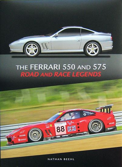 Immagine di THE FERRARI 550 AND 575 ROAD AND RACE LEGENDS