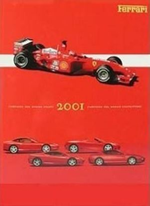 Picture of FERRARI ANNUARIO 2001 (signed by L.C.Di Montezemolo and dedicated to Mario Poltronieri)