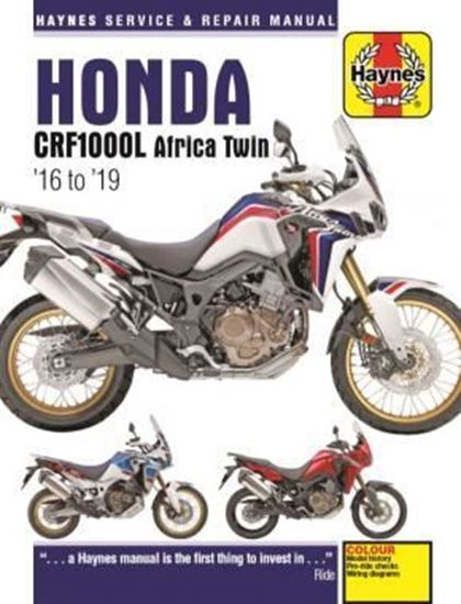 Picture of HONDA CRF1000L AFRICA TWIN 2016 to 2019 SERVICE AND REPAIR MANUAL N. 6434