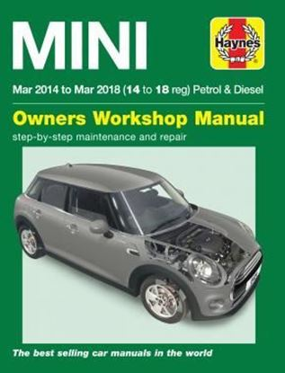 "Picture of MINI MAR 2014 to MAR 2018 (14 to 18 reg) PETROL & DIESEL ""OWNERS WORKSHOP MANUAL"" N. 6424"
