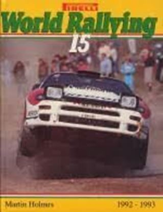 Picture of WORLD RALLYING PIRELLI N. 15 1992/1993