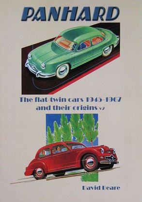 Immagine di PANHARD THE FLAT-TWIN CARS 1945-1967 AND THEIR ORIGINS