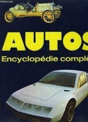 Immagine di AUTOS ENCYCLOPEDIE COMPLETE 1885 A NOS JOURS