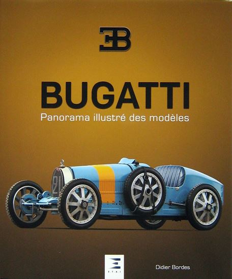 Picture of BUGATTI PANORAMA ILLUSTRE' DES MODELES
