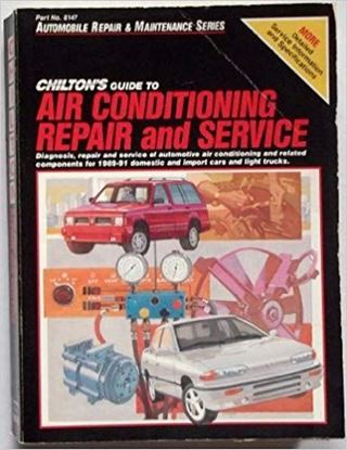 Immagine di CHILTON'S GUIDE TO AIR CONDITIONING. REPAIR AND SERVICE