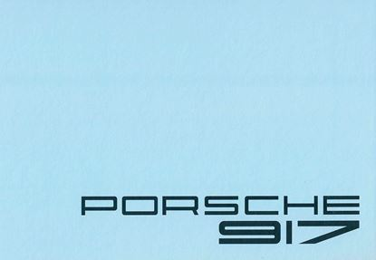 Picture of PORSCHE 917 PHOTO-ALBUM
