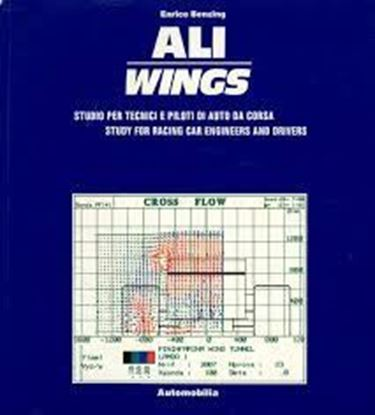 Picture of ALI/ WINGS: STUDIO PER TECNICI E PILOTI DI AUTO DA CORSA/STUDY FOR RACING CAR ENGINEERS AND DRIVERS