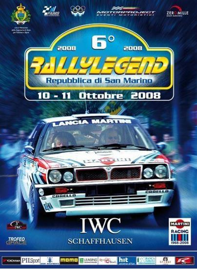 Picture of 6° RALLYLEGEND 10-11 OTTOBRE 2008 (Dvd)