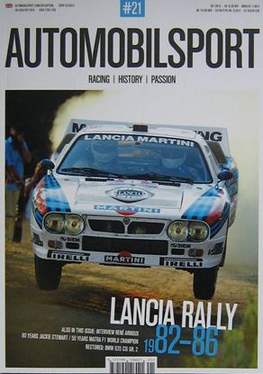 Picture of AUTOMOBILSPORT N.21: Special LANCIA RALLY 1982-86