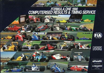 Picture of FORMULA ONE 1990 COMPUTERISED RESULTS & TIMING SERVICE