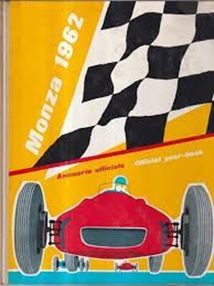 Picture of MONZA 1962 ANNUARIO UFFICIALE