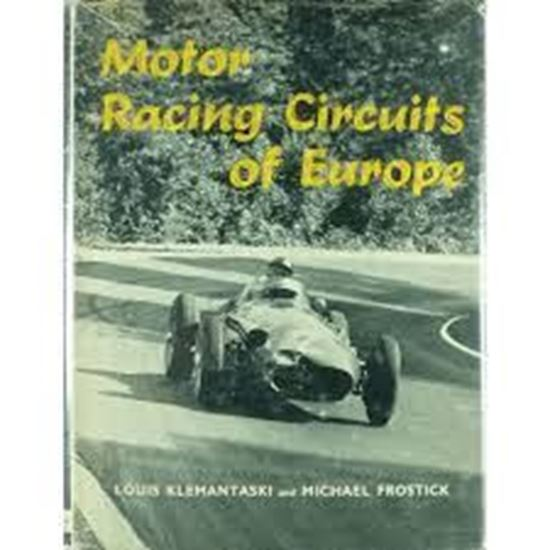 Picture of MOTOR RACING CIRCUITS OF EUROPE