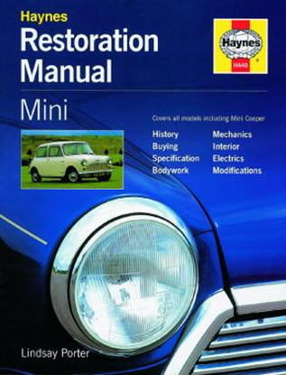 Picture of MINI RESTORATION MANUAL: ALL MODELS INCLUDING MINI COOPER RESTORATION