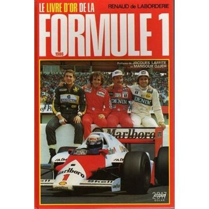 Picture of LE LIVRE D'OR DE LA FORMULE 1 1986