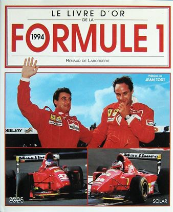 Picture of LE LIVRE D'OR DE LA FORMULE 1 1994