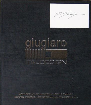 Picture of GIUGIARO ITALDESIGN 1988/1994 – Copia con firma di Giorgetto Giugiaro