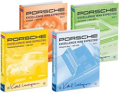 Picture of PORSCHE EXCELLENCE WAS EXPECTED 1948/2020. Set di 4 volumi. Nuova edizione 2019