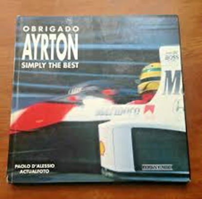 Picture of OBRIGADO AYRTON SIMPLY THE BEST edizione inglese