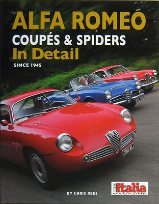 Immagine di ALFA ROMEO COUPES & SPIDERS IN DETAIL SINCE 1945