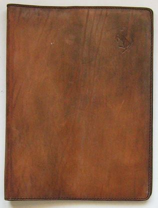 Picture of LEATHER AGENDA HOLDER (fair condition)