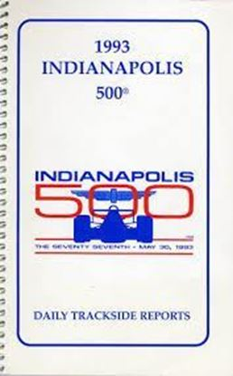 Immagine di 1993 INDIANAPOLIS 500 - DAILY TRACKSIDE REPORTS