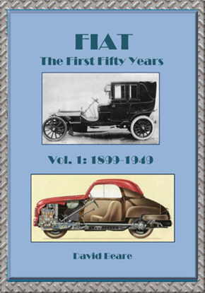 Immagine di FIAT THE FIRST FIFTY YEARS VOL.1 1899-1949