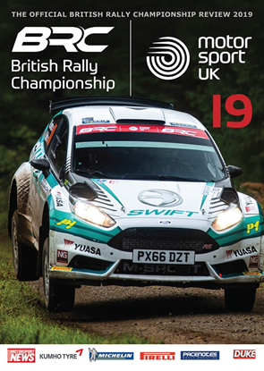 Immagine di BRC BRITISH RALLY CHAMPIONSHIP 2019 (Dvd)