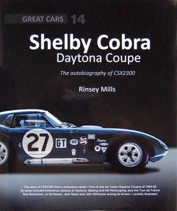 Immagine di SHELBY COBRA DAYTONA COUPE: THE AUTOBIOGRAPHY OF CSX2300