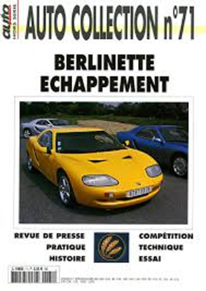 "Picture of BERLINETTE ECHAPPEMENT - Serie ""Auto Collection"" N. 71"