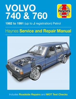 Immagine di VOLVO 740 & 760 (PETROL), 1982-91 N. 1258 OWNERS WORKSHOP MANUALS