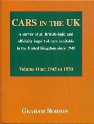 Immagine di CARS IN THE UK Volume One 1945 to 1970