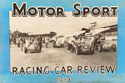 Picture of RACING CAR REVIEW 1953
