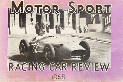Picture of RACING CAR REVIEW 1958