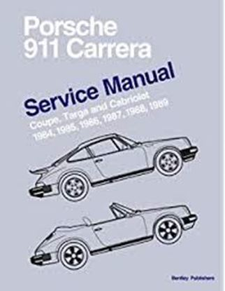 Picture of PORSCHE 911 CARRERA COUPE, TARGA AND CABRIOLET 1984-89 SERVICE MANUAL