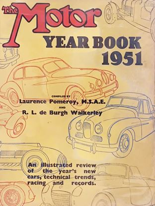 Picture of THE MOTOR YEAR BOOK 1951