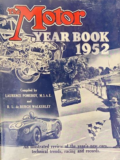 Picture of THE MOTOR YEAR BOOK 1952