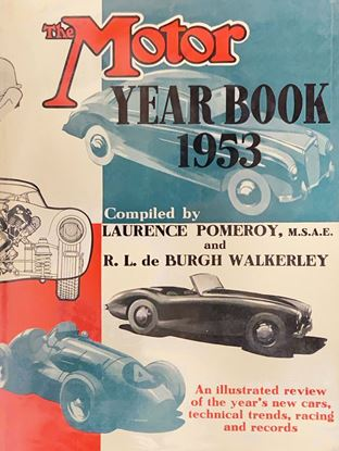 Picture of THE MOTOR YEAR BOOK 1953